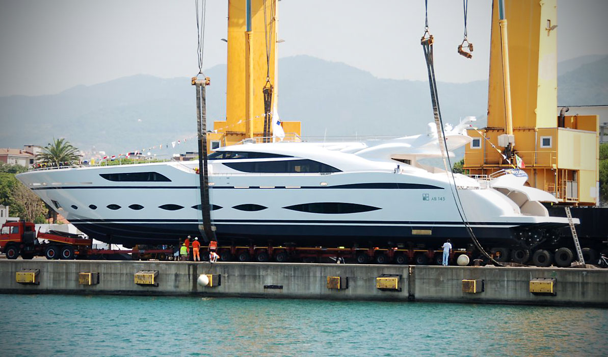 AB Yachts new Superyacht 145