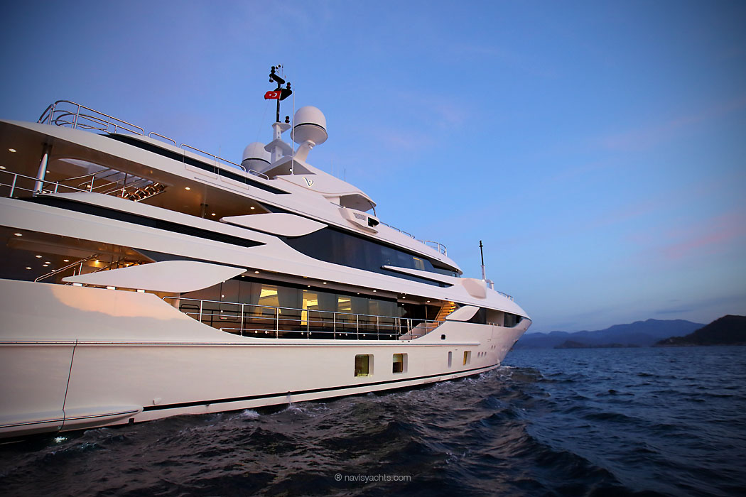 Benetti Yachts 44m Vica Official Video