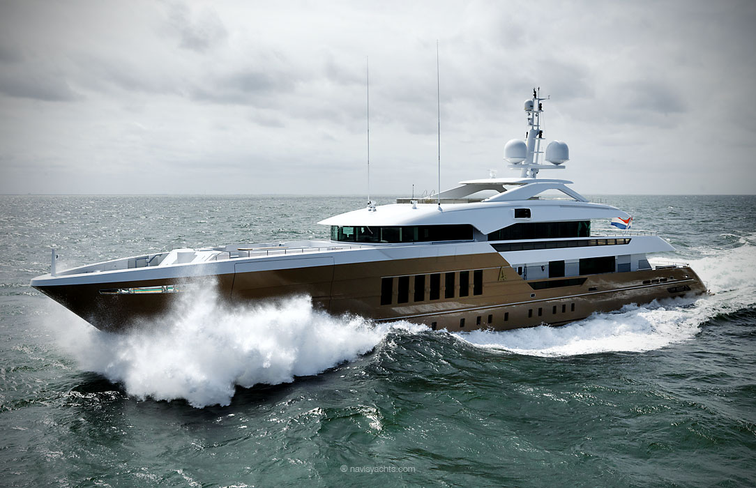 Heesen Yachts Announces Delivery of M/Y Azamanta
