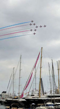The Red Arrows were present at the MYS13