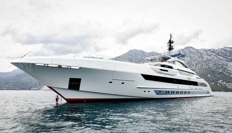 Heesen Yachts 70m Galactica Super Nova | NAVIS October