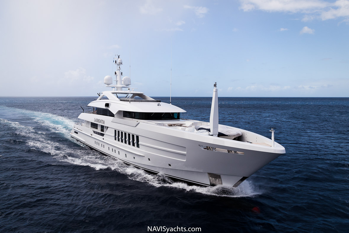 Heesen Yachts 55m Laurentia | NAVIS August / September 2019