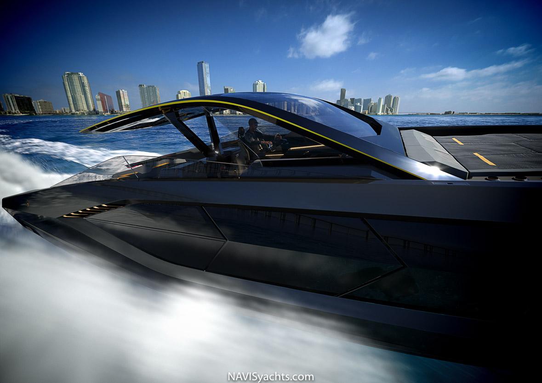 Lamborghini 63 yacht, Lambo yacht, speed boat