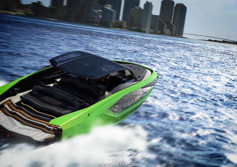 Lamborghini 63 Yacht, Lamborghini Boat