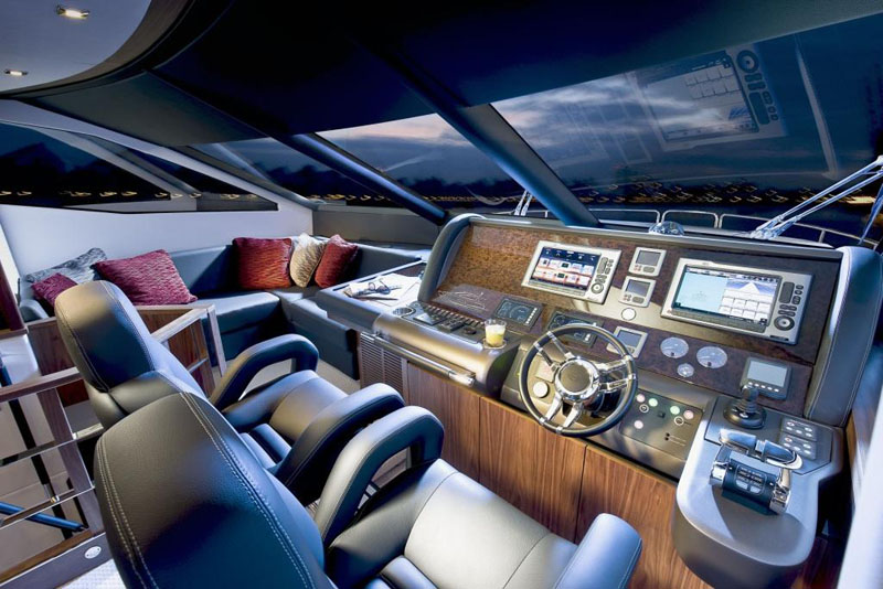 Sunseeker Manhattan 73 Helm