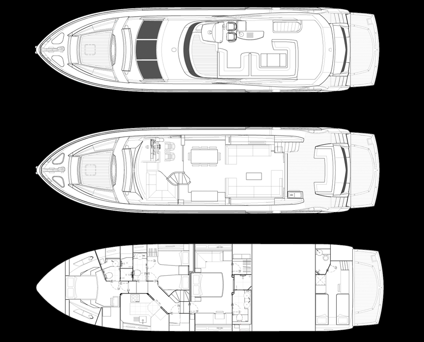 Sunseeker Man73 display