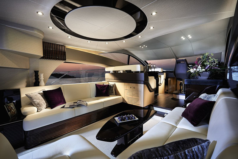 Sunseeker Yachts Manhattan 55 Main Saloon