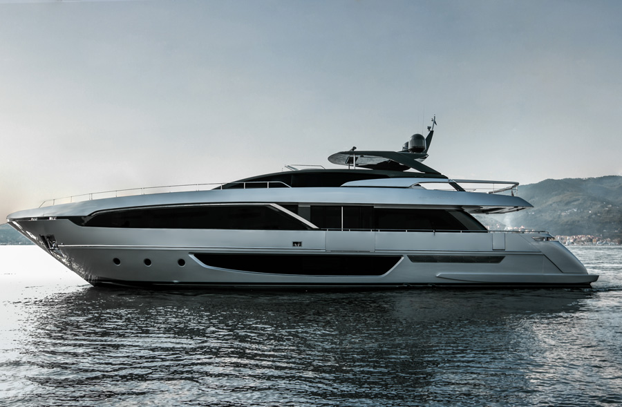 100 Foot Yacht >> Riva Launches Its 100 Foot Corsaro Yacht