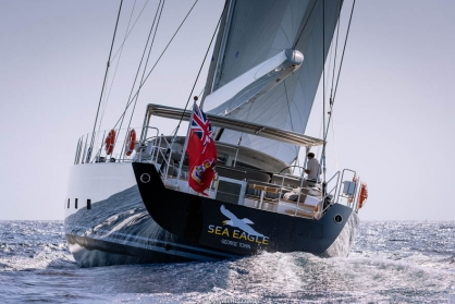 Royal Huisman Superyacht Sea Eagle