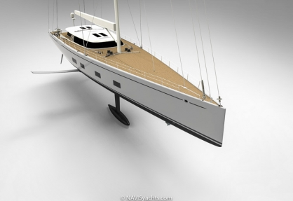 Baltic Foiling Superyacht